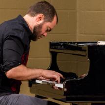 lars at the piano